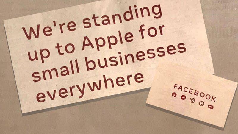 Pub Facebook attaque Apple