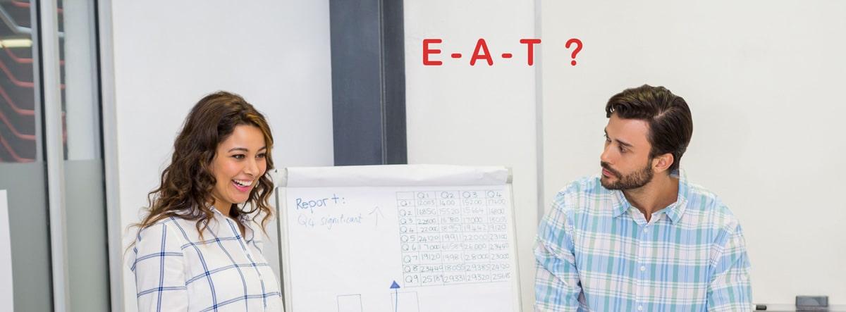 Score et critères E-A-T seo Google